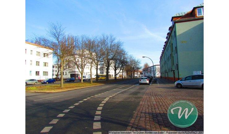 Gotthardstr Blick zur 'Weißen Stadt'