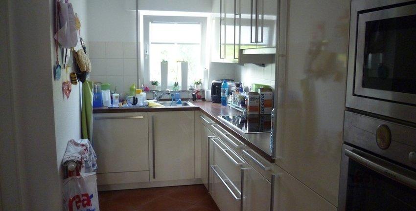 Vollwertige Küche inklusive