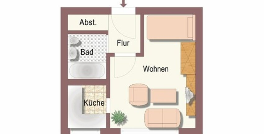Helles Appartement