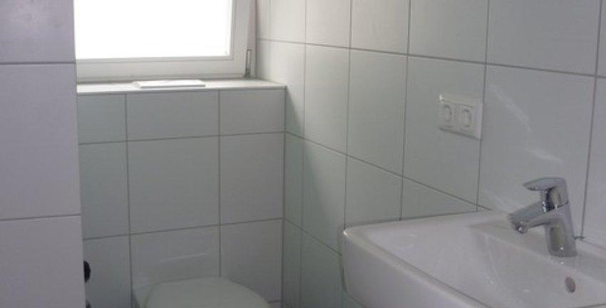 Neues Bad mit Fenster