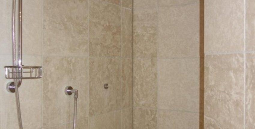 Hauptbad, Dusche u. Dampsauna