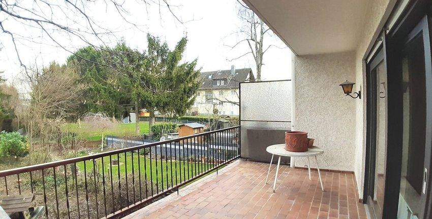 Terrasse vor dem Wohnzimmer