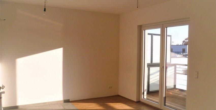 Wohnzimmer Küche Balkon