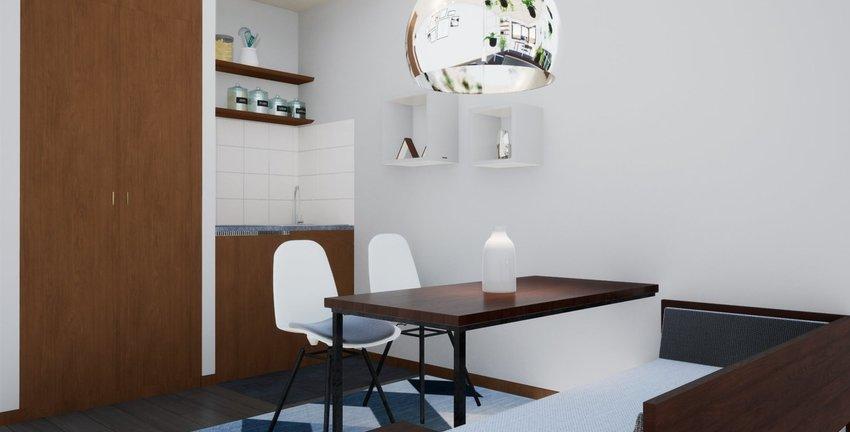 Visualisierung Küche und Essb