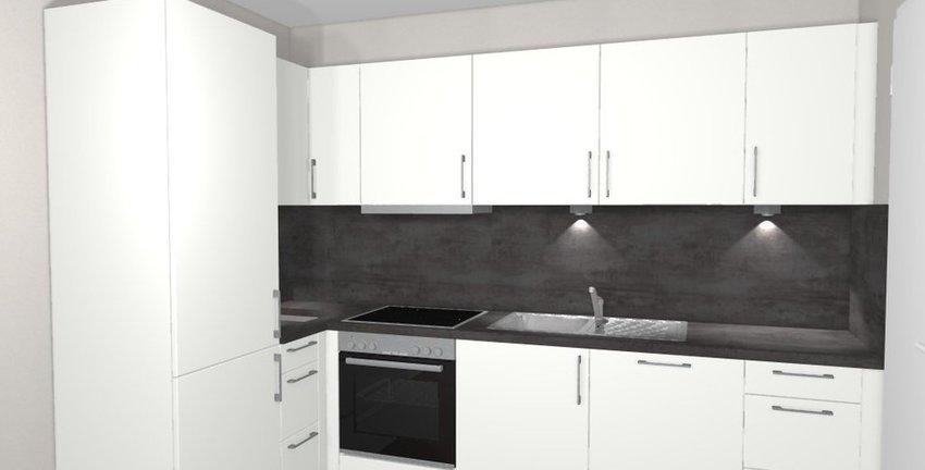 Küche-Visualisierung