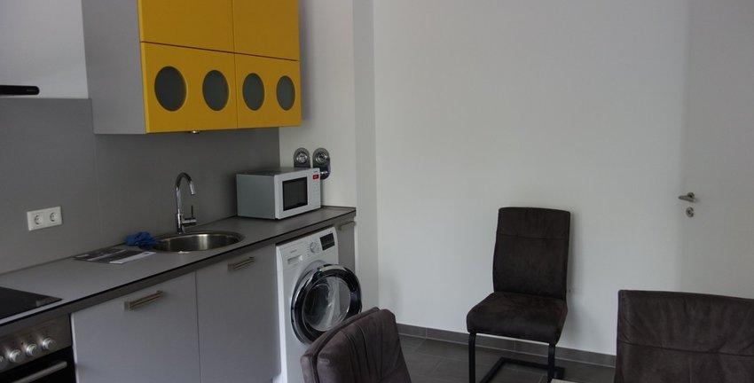 Küche inkl. Waschmaschine
