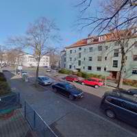 ID 2415 Nr.2 Saalbau, Kirche 'Weiße Stadt' Bln.-Reinickendorf
