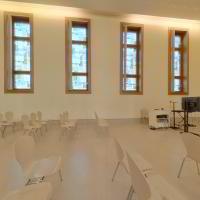 ID 2415 Nr.7 Saalbau, Kirche 'Weiße Stadt' Bln.-Reinickendorf